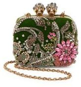 Alexander McQueen Queen & Queen Leather Convertible Minaudiere