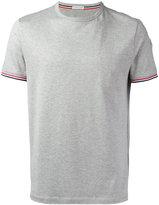 Moncler striped trim classic T-shirt - men - Cotton - S