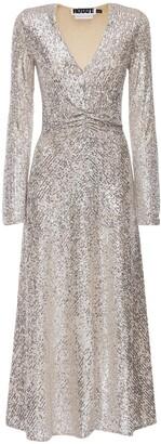 Rotate by Birger Christensen Sierra Sequined Midi Dress