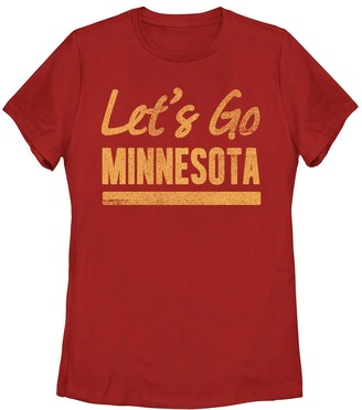 "Fifth Sun Juniors' Lets Go Minnesota"" Tee"