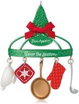 Hallmark Keepsake Ornament Bon Appétit Cooking Utensils