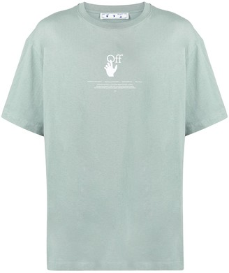 Off-White graphic-print T-shirt