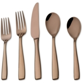 Mikasa Delano Rose Gold-Plated 20-Piece Flatware-Set