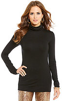 Gianni Bini Simone Turtleneck Long Sleeve Top
