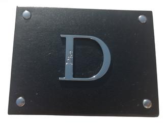 Christian Dior Black Leather Home decor