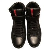Prada Leather high trainers