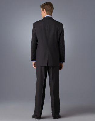Lauren Ralph Lauren Wool Pinstriped Suit Jacket