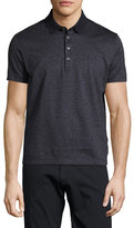 BOSS Micro-Pattern Polo Shirt, Navy