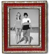 Julia Knight Classic Frame, 8 by 10-Inch, Pomegranate, Red