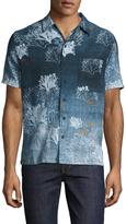 Nudie Jeans Men's Brandon Seaweed Sportshirt