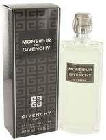 Givenchy Monsieur Eau De Toilette Spray 3.4 Oz For Men