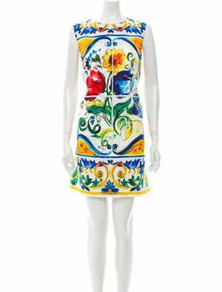 Dolce & Gabbana 2016 Mini Dress White