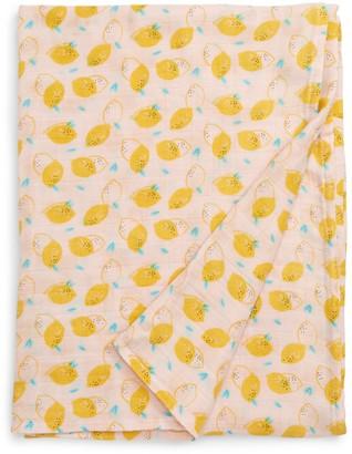 Loulou Lollipop Cutie Lemon Muslin Swaddle Blanket