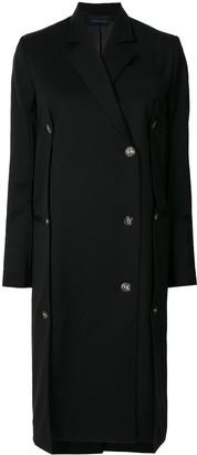 Eudon Choi Single Breasted Tailored Coat