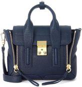 3.1 Phillip Lim Pashli Ink Blue Leather Mini Satchel