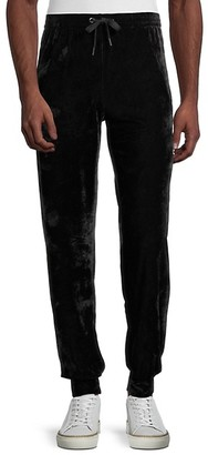 Versace Velour Gym Trousers