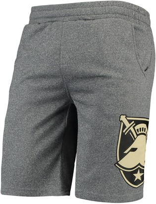 Colosseum Men's Heathered Gray Army Black Knights Seymour Shorts