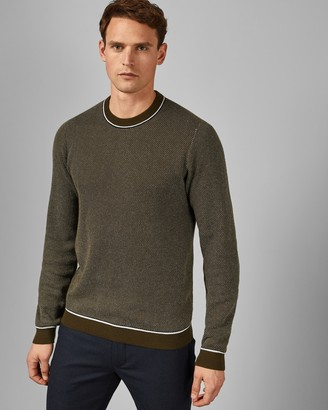 Ted Baker SOMTIME Long sleeved cotton crew neck jumper