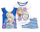 Children's Apparel Network Frozen Elsa & Anna Tee Set - Toddler