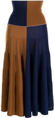 Marni Colour-Block High-Waisted Skirt