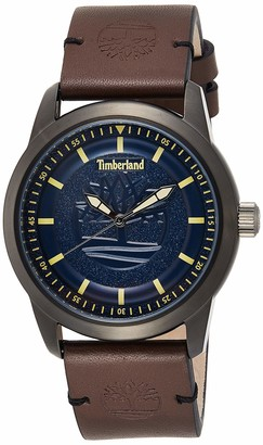 Timberland Mens Analogue Quartz Watch with Leather Strap TBL15632JSU.03
