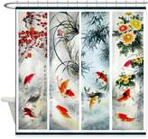 CafePress - Best Seller Asian - Decorative Fabric Shower Curtain