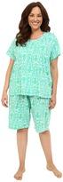 Lauren Ralph Lauren Plus Size Bermuda PJ Set