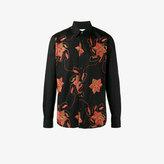 Dries Van Noten Floral Embroidered Shirt