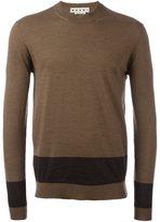 Marni contrast stripe jumper