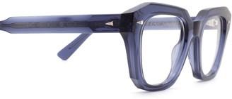 AHLEM Pont Des Arts Optic Raw 8mm Blue Glasses