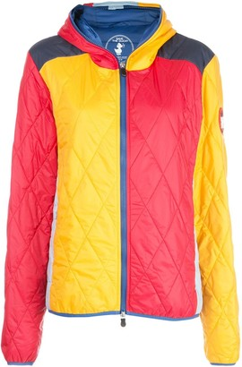 M Missoni Colour Block Quilted Jacket