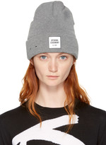 Opening Ceremony Grey New Era Edition Logo Beanie