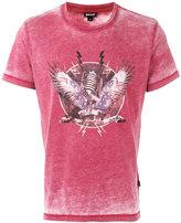 Just Cavalli mic print T-shirt