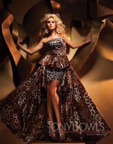 Mon Cheri TB Evenings by Mon Cheri - TBE11153 Dress In Leopard