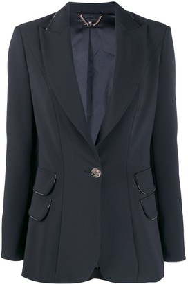 Elisabetta Franchi single button blazer