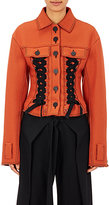 Proenza Schouler Women's Double Lace-Up Jacket-ORANGE