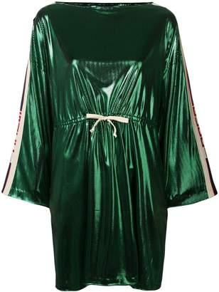 Gucci side panelled short dress