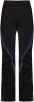 Fendi Colour-block flared-leg ski trousers