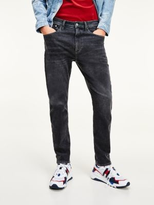 Tommy Hilfiger Relaxed Tapered Recycled Cotton Black Jeans