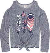 Arizona Long Sleeve T-Shirt-Big Kid Girls