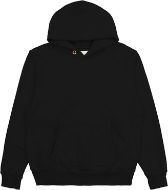 LES TIEN Classic Cotton Hooded Sweatshirt