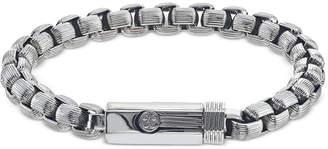 Esquire Men Jewelry Box-Link Bracelet in Stainless Steel