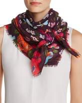 Echo Wild Flower Square Scarf