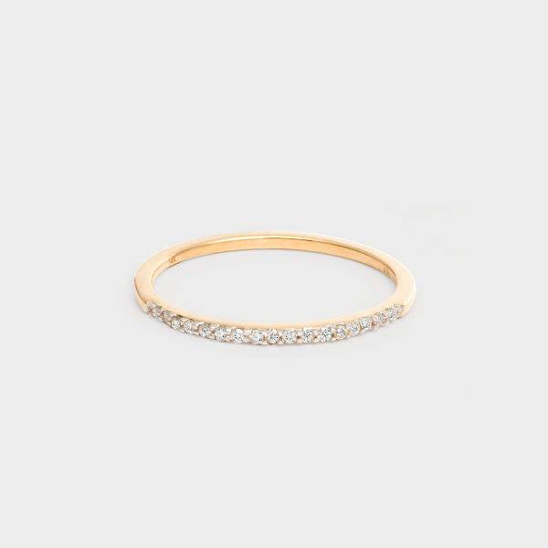 Club Monaco Adina Reyter Y Gold Pave Ring