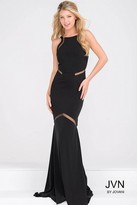 Jovani Fitted Open Back Jersey Dress JVN3072