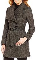 Preston & York Wool Wing Collar Wrap Coat