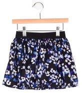 Kate Spade Girls' Floral Print Mini Skirt