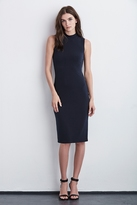 Shai Stretch Jersey Mock Neck Dress