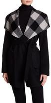 Mackage Plaid Detail Coat