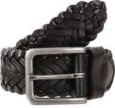Dents Plaited Leather Belt